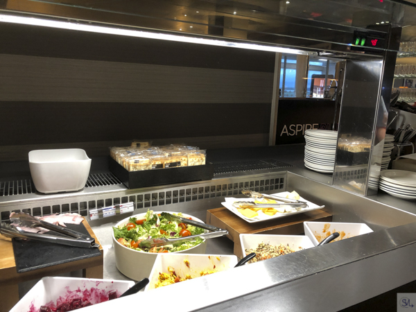 aspire lounge ncl salad bar