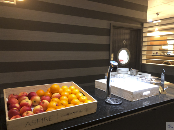 aspire lounge ncl fruit