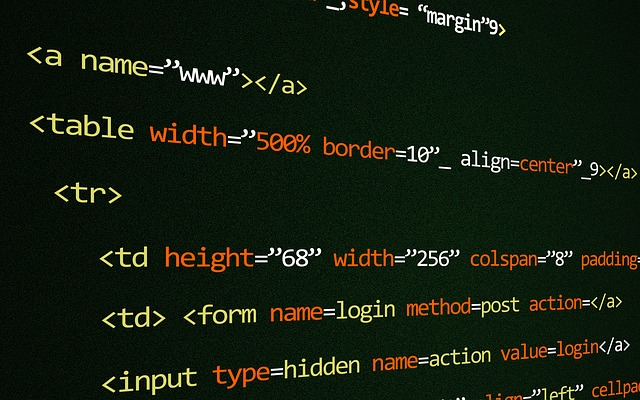 table html code