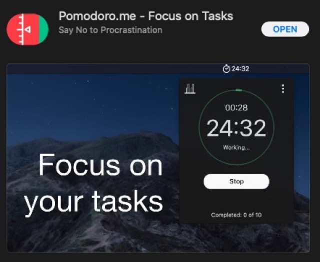 pomodoro mac os download