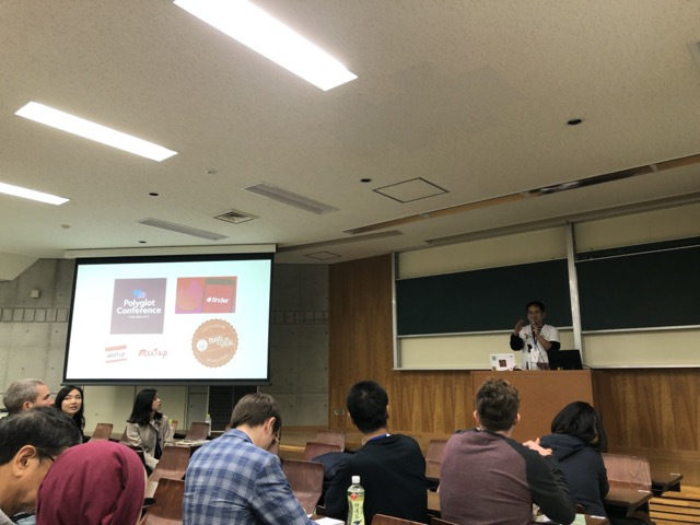 polyglot conference fuk 2019 terry