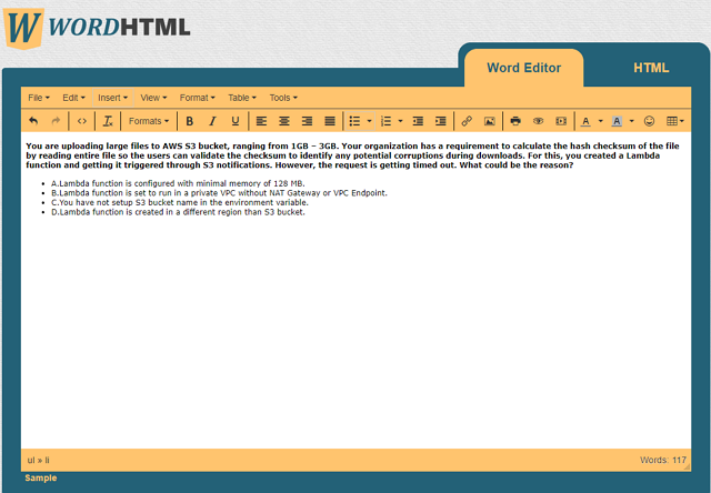 wordhtml-transoform-word-format-to-html demo
