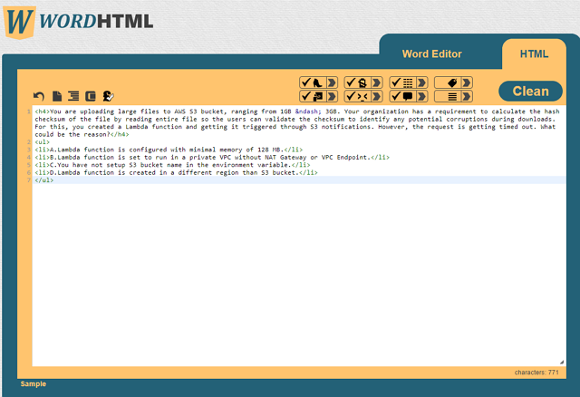 format,HTML,word,wordhtml