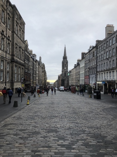 classical road Edinburgh