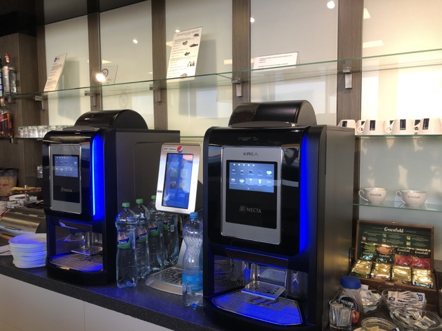 lounge view prg coffee machine
