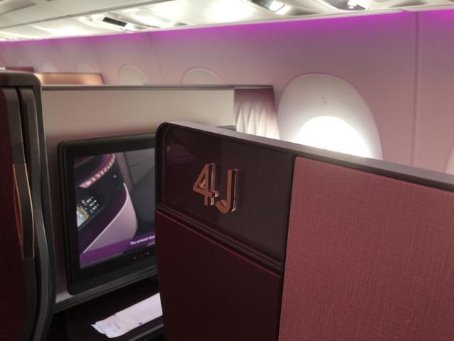 [飛行體驗] QR1 卡達航空商務艙 (DOH卡達杜哈 – LHR倫敦希斯洛)