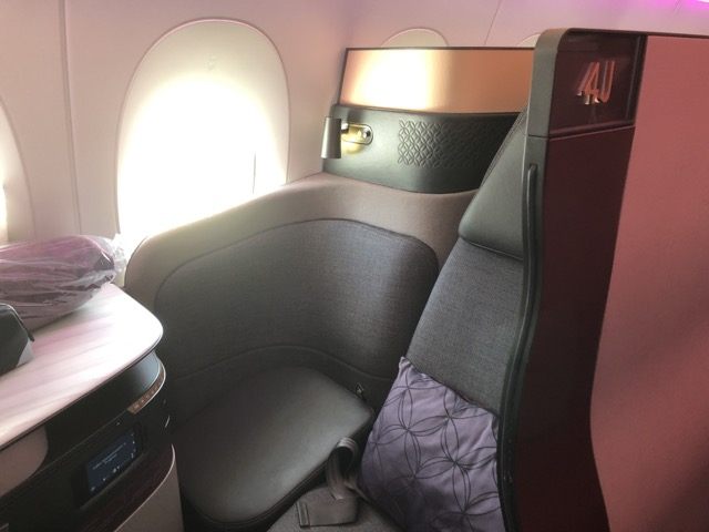 qr1 seat
