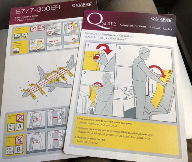 qr815 safety card