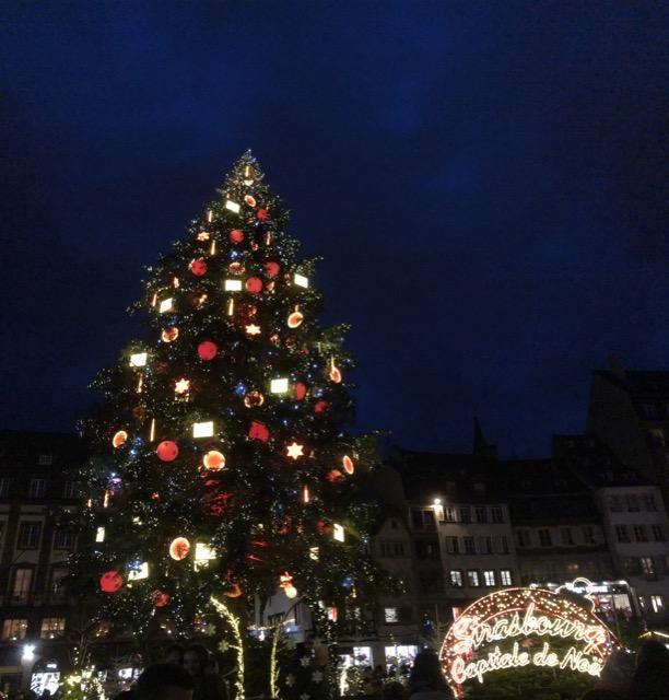 christmas tree-2 strasbourg