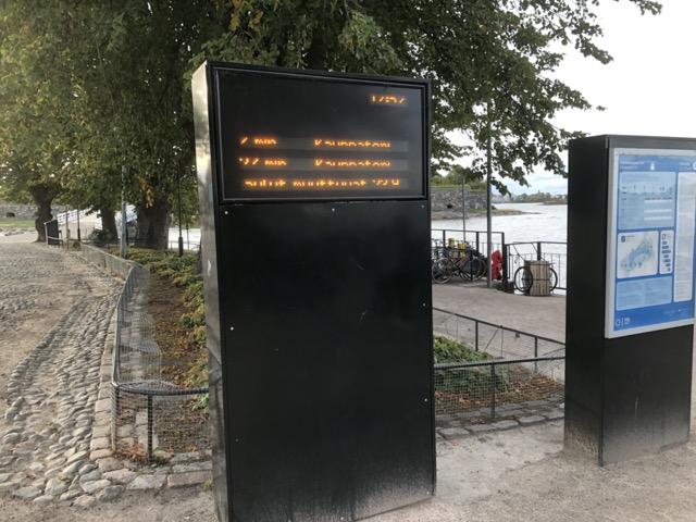 suomenlinna timetable