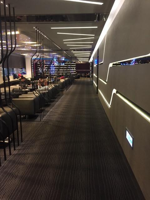 infinity lounge corridor