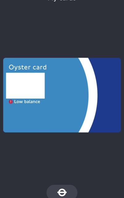oyster card index