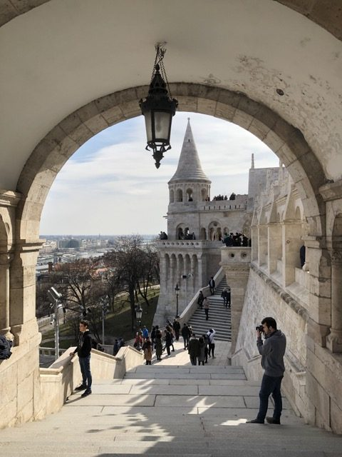 fisherman bastion stairs