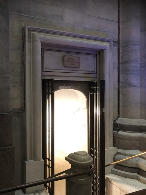 milan cathedral basement entrance