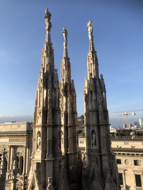 milan cathedral 3 tops