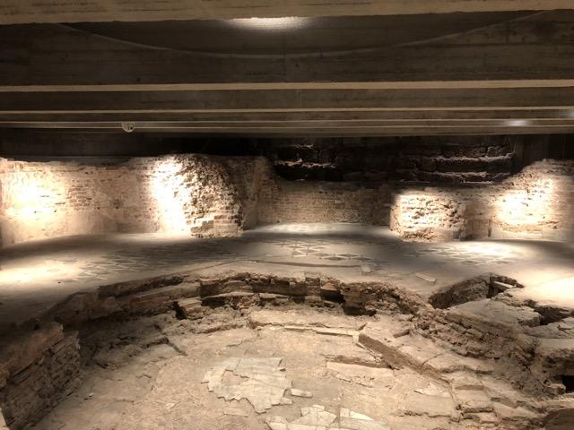 milan cathedral underground