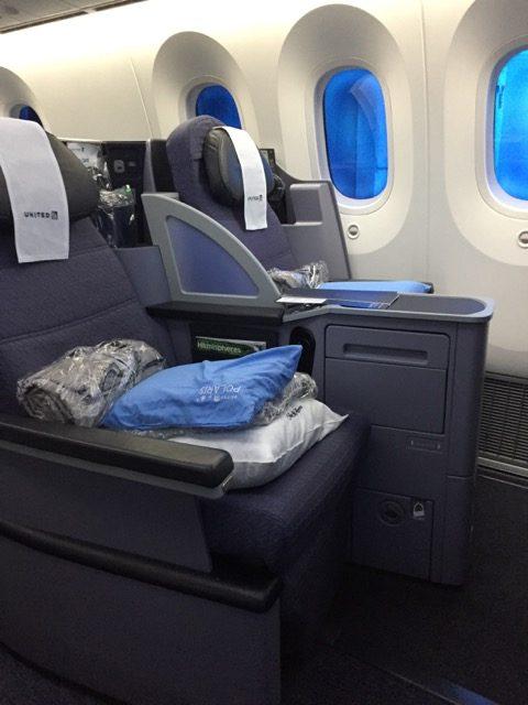 ua business seat