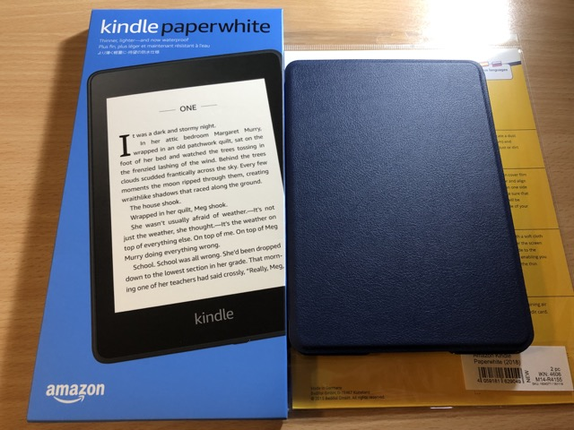 [開箱] Amazon Kindle Paperwhite 2018