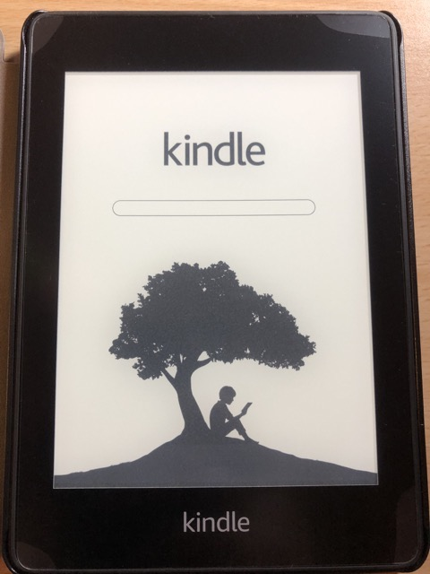 amazon kindle paperwhite 2018 turn on
