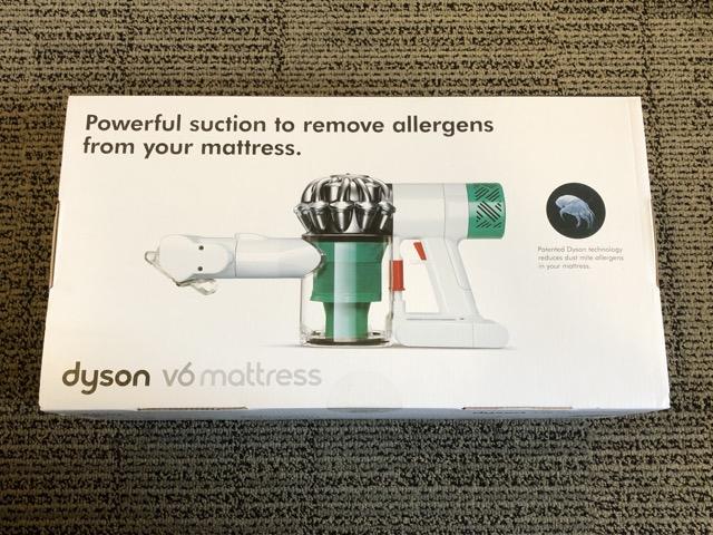[開箱] Dyson V6 Mattress 電動塵蟎吸塵器