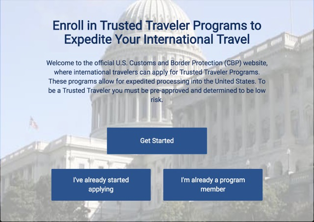 [指南] 美國 快速通關計畫 Trusted Traveler Programs Global Entry 2018