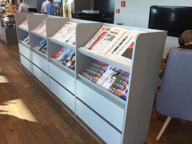 austrian lounge magazine stand
